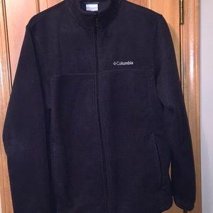 Columbia Men's Fleece Jacket L Black